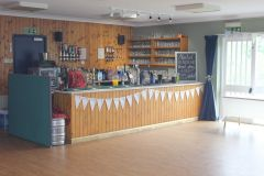The bar ready for action