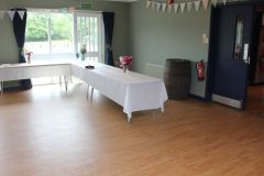 The New Hall as a reception room