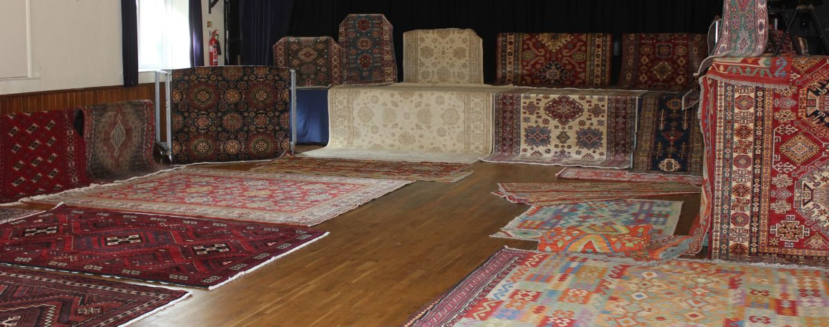 rugs in hall