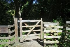 Gate to Deneholme Wood